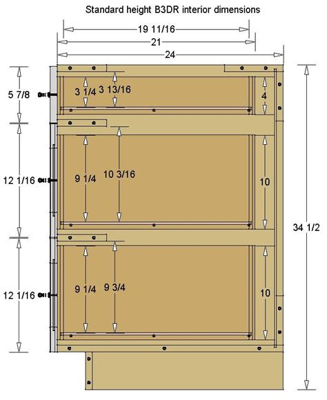 Base Cabinet Door Sizes
