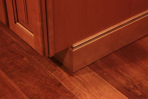 Base Cabinet Toe Kick Or Baseboard