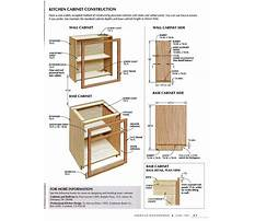 Best Base cabinet plans