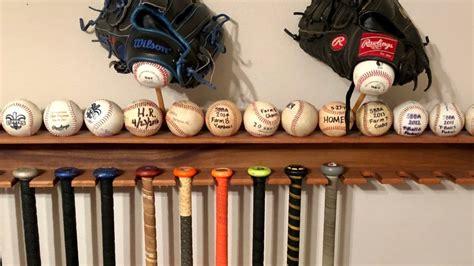 Baseball Bat Display Rack Diy