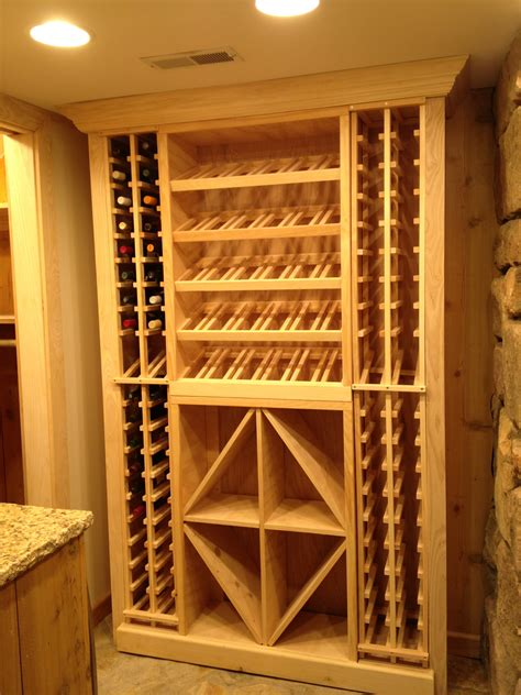 Basement Wine Rack Diy