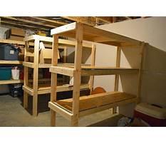Best Basement shelves design