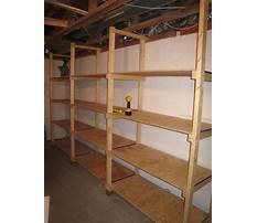 Best Basement storage shelves woodworking plans.aspx