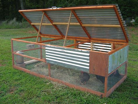 Basic Chicken Tractor A Frame Plans