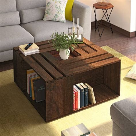Basic Coffee Table Construction