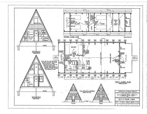Basic-A-Frame-Cabin-Plans