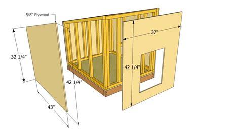 Basic-Large-Dog-House-Plans