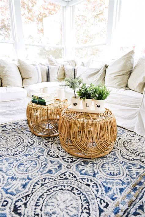 Basket Coffee Table Diy