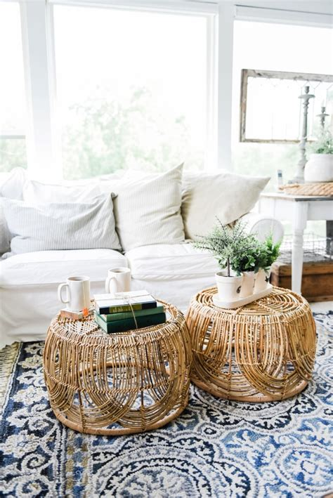 Basket Coffee Table Diy Plans