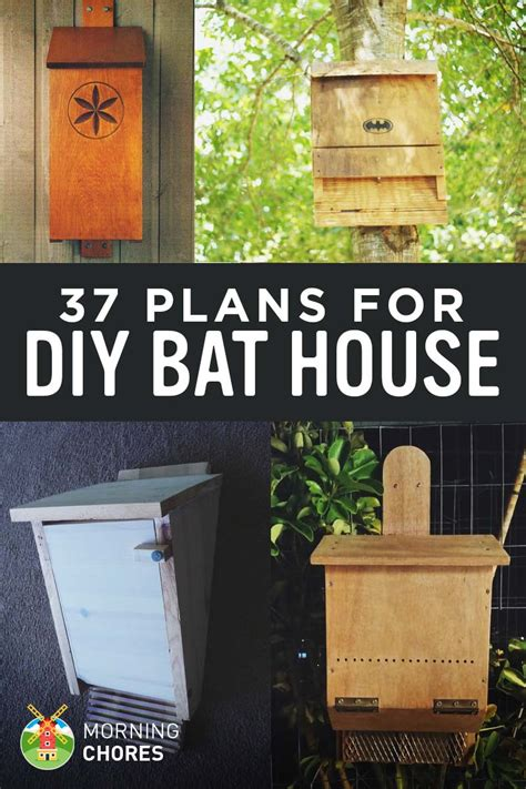Bat House Plans Diy