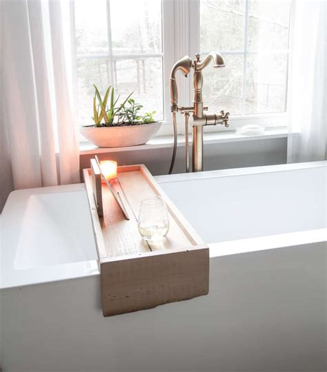 Bath-Tray-Wood-Diy