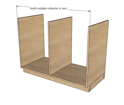 Bathroom How To Build A Base Cabinet Plans