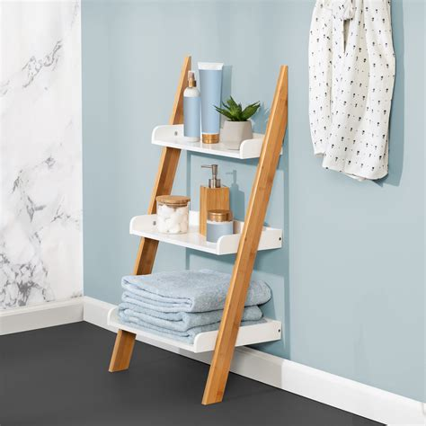 Bathroom Ladder Shelf NZ