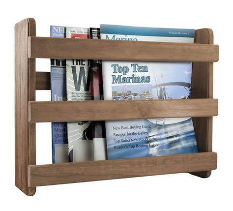 Bathroom Magazine Rack Wood