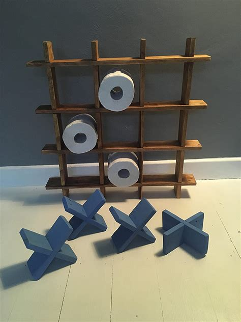 Bathroom Tic Tac Toe Shelf Plans