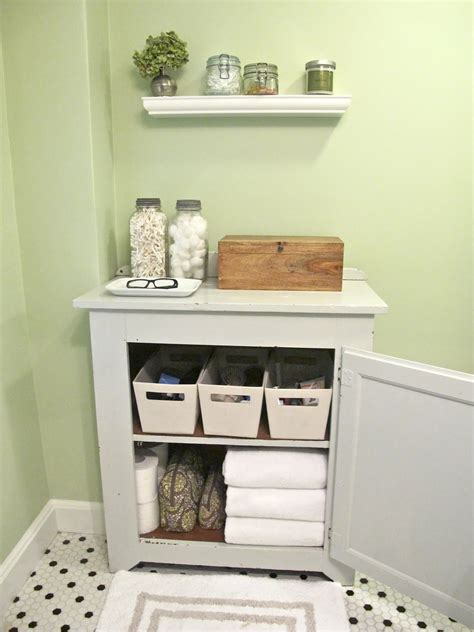 Bathroom Towel Storage Cabinet Diy
