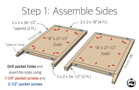 Bathroom Vanity Construction Plans 30