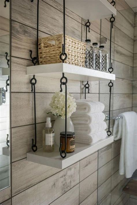 Bathroom Wall Shelves Diy