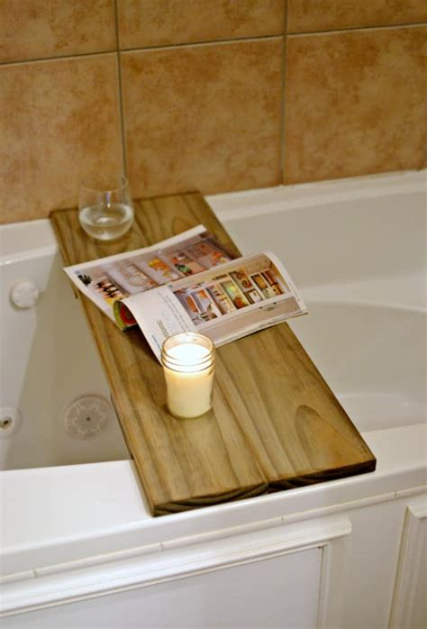 Bathtub Table Diy