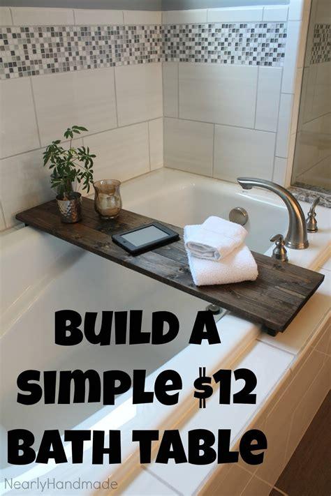 Bathtub-Table-Diy