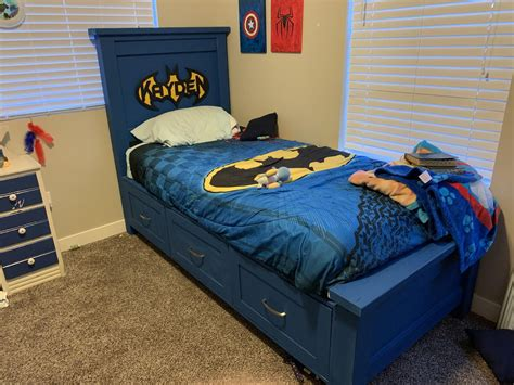 Batman Bed Diy Plans