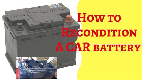 Battery Reconditioning In Xenia