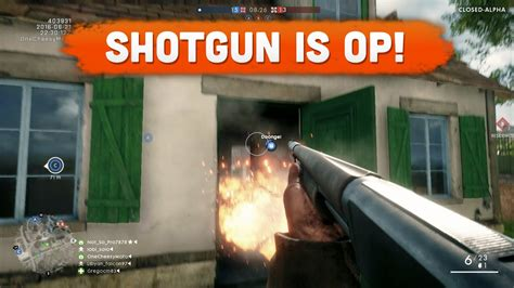 Battlefield 1 Shotgun Op And Mossberg 835 12 Gauge Pump Shotgun