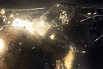 Battlestar Galactica Battle Scenes