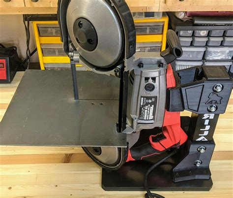 Bauer Portable Band Saw Stand Plans