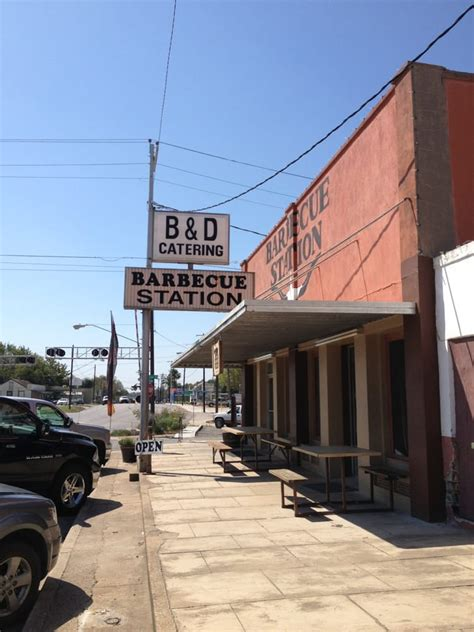 Bbq Station In Cuero Tx