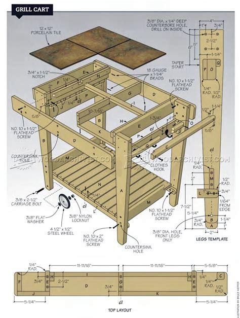 Bbq-Grill-Cart-Plans
