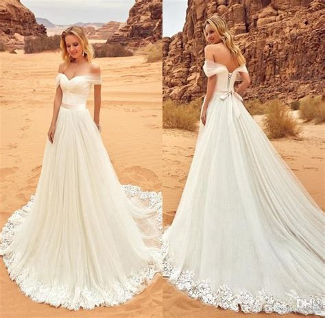 Beach Wedding Dresses Don't Have to Be Plain or Boring