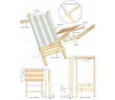 Best Beach chair wood plans