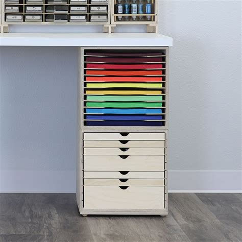 Bead Storage Desk With Drawers