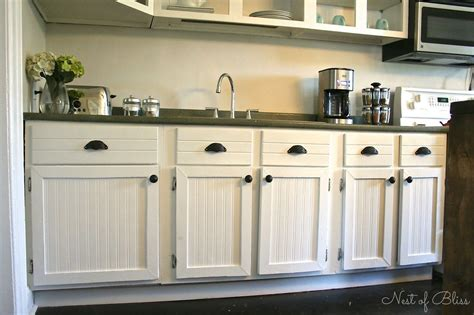 Beadboard Kitchen Cabinets Diy