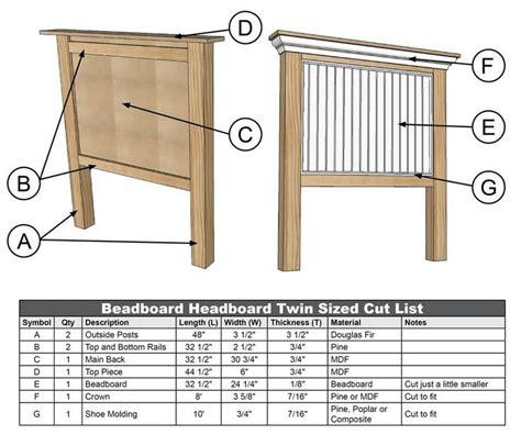 Beadboard-Bed-Frame-Plans