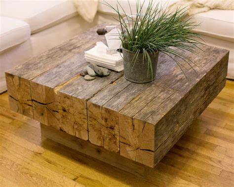 Beam Coffee Table Diy