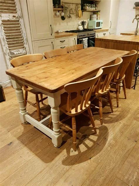 Beam-Farmhouse-Table-And-Chairs