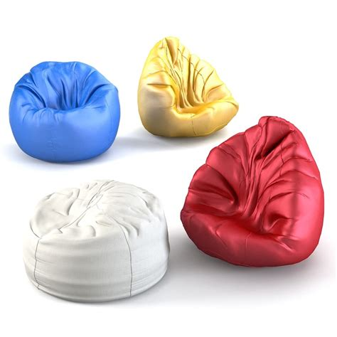 Bean Bag Chair 3ds Max