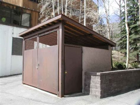 Bear Proof Trash Enclosure Plans