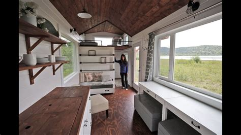 Beautiful 24 Foot Tiny House With Free Plans