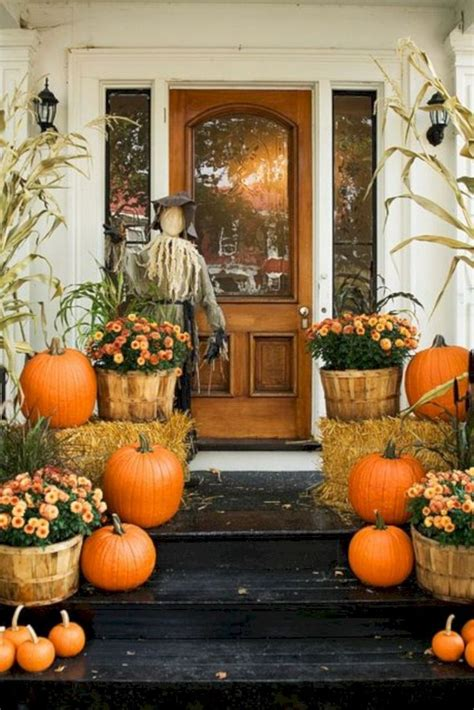 Beautiful Fall Porch Decorating Ideas