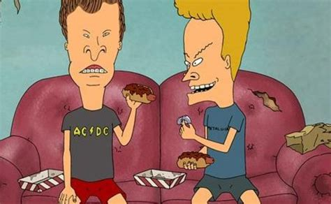 Beavis And Butthead In Recliner