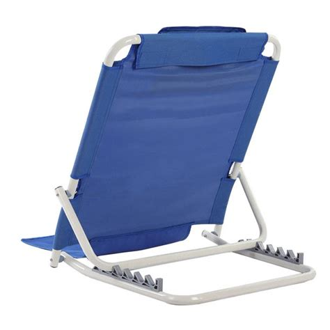 Bed Back Rest Lounger Foldable No Arms