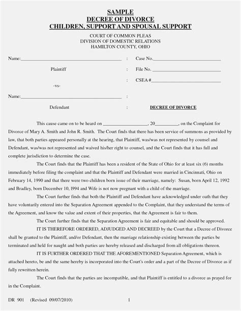 Bed Board Divorce Nj Forms