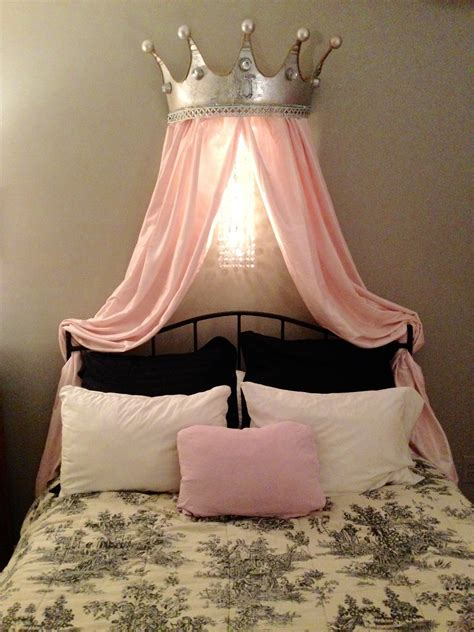 Bed Canopy Crown Diy