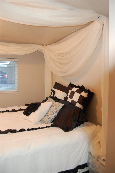 Bed Canopy Diy Pinterest Crafts