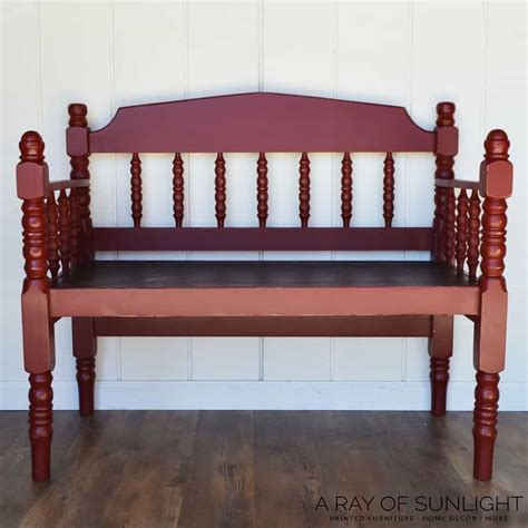 Bed Footboard Bench Diy Hollow