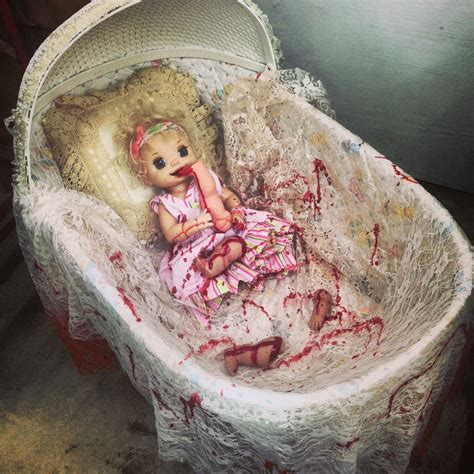 Bed For Dolls Diy Halloween