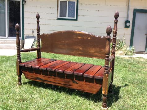Bed Headboard Bench Woodworking Plans